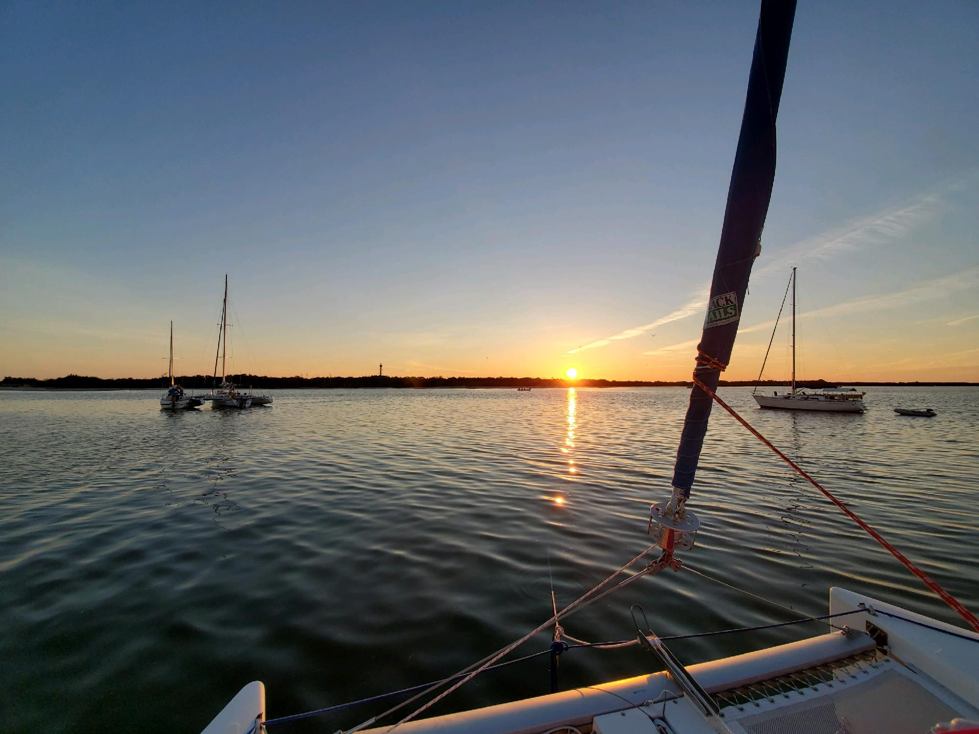Sunset on Sailstice