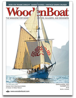 WoodenBoat Cover