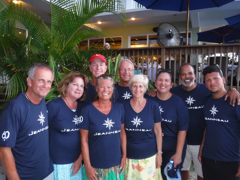 Florida Jeanneau Owners and Matheson Hammock YC Celebrate in Key Largo!