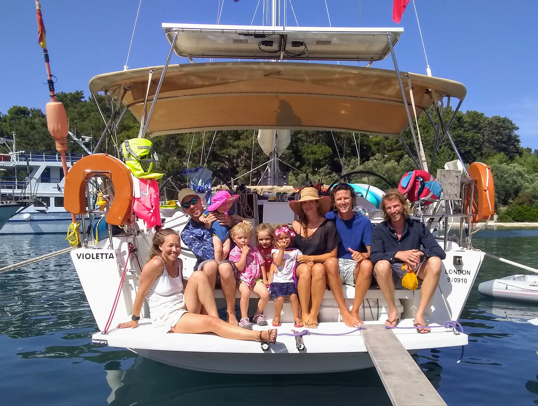 Sailing families
